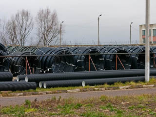 Polyethylene pipes for water